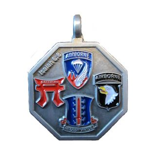 187TH INFANTRY REGIMENT (RAKKASAN) ST. MICHAEL MEDALLION