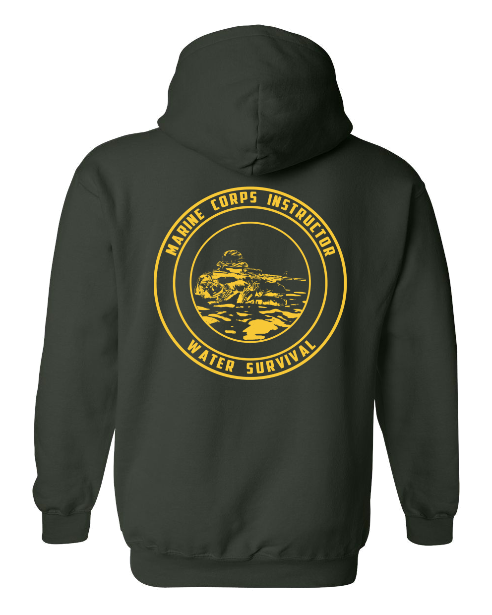 Marine Combat Corps Instructor of Water Survival ( M.C.I.W.S) Hoodie
